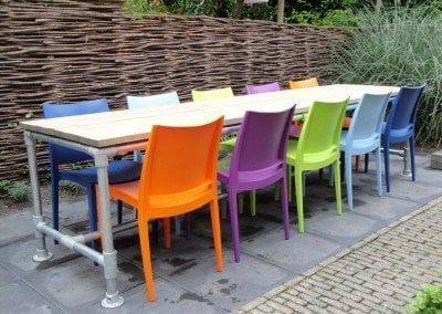 3108bv Hilversum Steigerhout op maat gemaakte meubels ook voor buiten