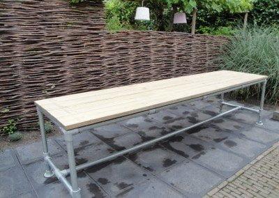 3108bv houten tuinmeubels op maat regio Hilversum timmerwerk