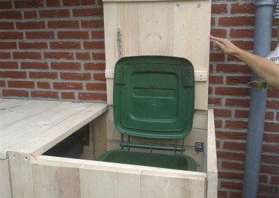 Klikokast houten ombouw voor duocontainer of duobak 3108 Design (4)
